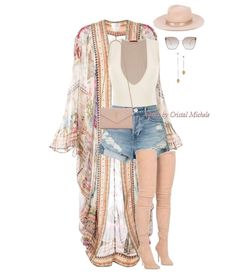 Thigh-highs and Dusters! Who's ready for fall? Mode Outfits, Short Outfits, Spring Outfits, Fashion Outfits, Womens Fashion, Fashion Shorts, Modest Fashion, Fashion Ideas, Fashion Killa