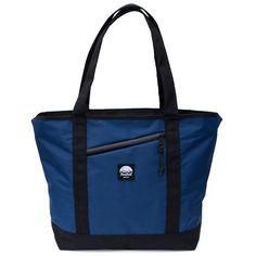 Flowfold Stormproof Porter Zipper Tote Bag Navy Blue Kevlar All-Purpose Day Pack