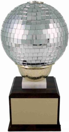 Large Disco Ball Trophy