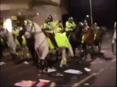TOTO VIDEO NEMĚL NIKDO VIDĚT: VZPOURA MUSLIMŮ PROTI BRITSKÉ POLICII