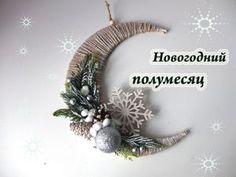 Video Tutorial: 'Fairy Tale Moon' Christmas Composition. Livemaster - handmade