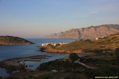 Le village de Mochlos, le port et l'ilot - Crete - Grece