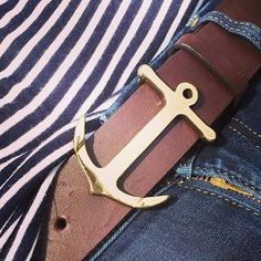 Anchor Belt Buckle