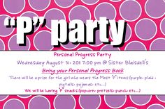 "Stand & Shine Magazine: Personal Progress ""P"" Parties"