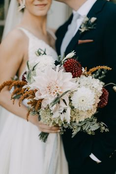 Romantic Fall Bouquet of Dahlias, Chrysanthemums and Hydrangeas Chrysanthemum Bouquet, Anemone Bouquet, Hydrangea Bouquet, Hydrangeas, White Floral Arrangements, Wedding Flower Arrangements, Fall Bouquets, Fall Wedding Bouquets, Romantic Wedding Flowers