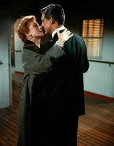 Cary Grant and Deborah Kerr as Nickie & Terry from An Affair to Remember (1957)