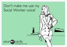 Social worker humor!: