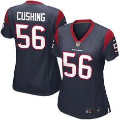 Brian Cushing Houston Texans Nike Women's Game Jersey – Navy Blue