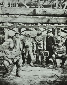 Blackfriars Bridge, 1869 Construction workers pose with equipment The Guardian Victorian Life, Victorian London, Vintage London, Old London, East London, London Docklands, Tower Bridge London, London Landmarks, London History