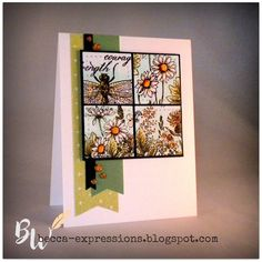 Expressions: Blog Hop for June 2020 Stamp of the Month-Garden Tags Heart Sketch, Bee Cards, Alcohol Markers, Heart Cards, Flower Images, Close To My Heart, My Stamp, Paper Decorations, Flower Cards