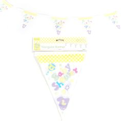 20X11H Baby Shower Triangular Banner/Case of 36 Tags:  Banners; Baby Shower; baby shower party ideas;baby shower banners;baby shower party decorations;baby shower decorations; https://www.ktsupply.com/products/32795331341/20X11H-Baby-Shower-Triangular-BannerCase-of-36.html