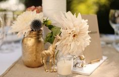 black and gold | Wedding Inspiration Boards ❘ Burnett's Boards