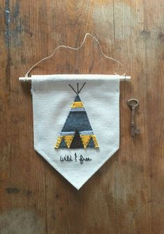 Image result for hanging word banners fabric