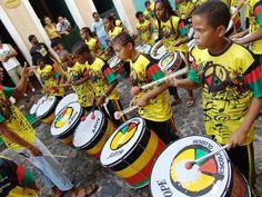 Olodum Samba School - Salvador, Bahia (Northeast)