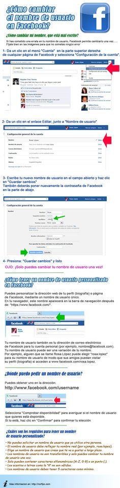 cambiar nombre usuario en facebook.