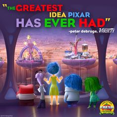 Who are you going to see Disney/Pixar's Inside Out with tomorrow? Get tickets today! di.sn/6001CzO7