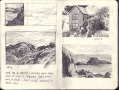 Edgar Payne composition studies