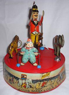 tin circus toy
