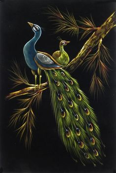 My Peacock Painting Pictures