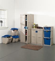 easy-assembly-garage-storage-cabinets--shelves-and-recycling-bins