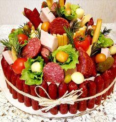 Appetizer Recipes, Appetizers, Food Bouquet, Gift Baskets For Him, Charcuterie Recipes, Savory Tart, Fruit Displays, Edible Arrangements, Brunch Party