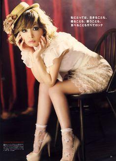Ayumi Hamasaki: ViVi magazine '10