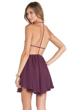 #REVOLVEclothing Love this dress, especially the back and color.
