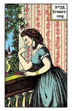 A lovely vintage German fortune telling card. - It's called the Kipper deck. Vintage Ephemera, Vintage Ads, My Dream Car, Dream Cars, Fortune Telling Cards, Cartomancy, Tarot Readers, Oracle Cards, Card Reading