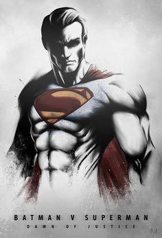 Dawn of Justice's Superman by Nimesh Niyomal