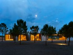 Ramon Esteve blends concrete and pine within a Spanish landscape - News - Mark Magazine