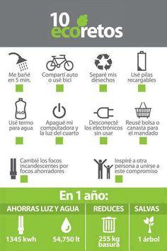 """10 pasos para ser una persona ecológica. [Contacto]: ► www.nestorcarrarasrl.wordpress.com Néstor P. Carrara S.R.L """"Desde 1980 satisfaciendo a nuestros clientes"""""""