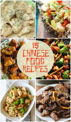 15 Chinese Food Recipes just in time for Chinese New Year!! https://lilluna.com