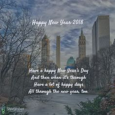 May 2018 be your best year yet. Happy New Year 2018!
