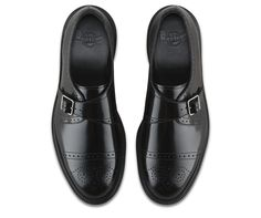The monk strap shoe was originally designed for - yep - European monks, as a dressier, more durable sandal alternative. And here's the thing: they don't just look good with robes, but jeans. And suits. And shorts. That said, the Cobden Monk Strap Shoe serves up a modern take on a classic silhouette, with buckle fastening, an iconic Dr. Martens air-cushioned sole, all made with the durable-yet-shiny Doc Polished Smooth leather.
