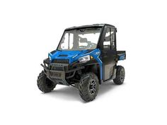 New 2017 Polaris Ranger XP® 1000 EPS Northstar HVAC Edition ATVs For Sale in Kansas. World's most powerful UTV with 80 hp The world's most utility power with the precision of class exclusive throttle control modes Northstar Edition Features: Premium Pro-Fit cab, fixed glass windshield with wiper, rear glass panel, dome light, rearview mirror, heat, AC, defrost and Cut & Sew seats Dimensions: - Wheelbase: 81 in. (206 cm) Other: - Notes: RANGER® Models Warning: The Polaris RANGER® can be…