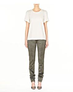 glitter drainpipe jean - Pants Women - Bottoms Women on Alexander Wang