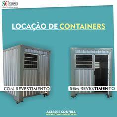 Locação de containers diferenciados! Visite: www.sccontainer.com.br