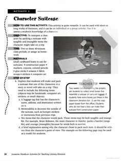 Awesome Hands-on Activities for Teaching Literary Elements - Susan Van Zile - Google Books Group Activities, Hands On Activities, Educational Activities, Literary Elements, 6th Grade Ela, Alchemist, Literature, It Works, Knowledge