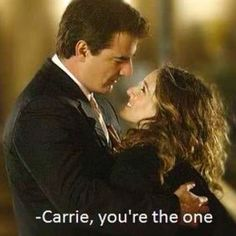 I love Mr. Big and Carrie - they did kiss