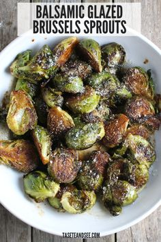 Balsamic Glaze Brussel Sprouts, Sauteed Brussel Sprouts, Brussels Sprouts, Dinner With Brussel Sprouts, Healthy Sweet Snacks, Nutritious Snacks, Healthy Food, Yummy Food, Raw Food