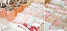 girl party favour cards!