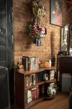 Check out this Eclectic, Colorful, Whimsical Small/Cool Space | Apartment Therapy