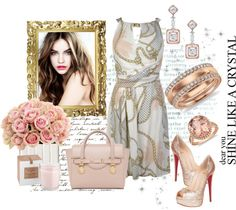 """""""Shine like a crystal"""" by polylover-katt ❤ liked on Polyvore"""