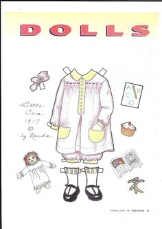 More dolls from American paper - Ulla Dahlstedt - Álbumes web de Picasa