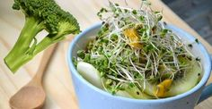Must read broccoli sprouts benefits. Improve your health simply by eating this superfood. Read our 6 surprising health benefits of broccoli sprouts and add them to your menu TODAY! Growing Broccoli, Memory Enhancing Foods, Broccoli Health Benefits, Broccoli Sprouts Benefits, Growing Sprouts, Cancer Fighting Foods, Superfood, Smoothie, Smoothies