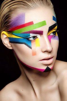 Photograph Iti by Damien Mohn on Make-up : Yoan Perez Makeup Inspo, Makeup Inspiration, Beauty Makeup, Eye Makeup, Hair Makeup, Face Makeup Art, Makeup Ideas, Prom Makeup, Maquillage Halloween