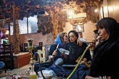 Smoking a shisha. | Tehran, Iran | #paradigmshift