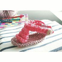 Crochet Sandals Baby Girl