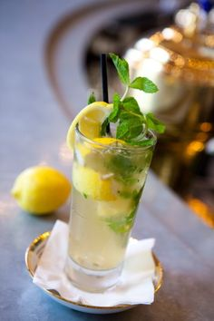 Make this refreshing Criollo Cocktail Recipe at home, or enjoy one in New Orleans at the world famous Carousel Bar at Hotel Monteleone in the French Quarter!