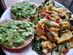 https://www.instagram.com/p/BPbF23ShagY/ 3/4 c egg whites w american cheese and veggies + whole wheat english muffin w avocado 😋😋 #PostWorkout #FoodIsFuel